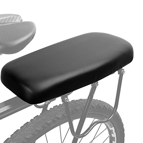 (TOPCABIN Bicycle Manned Cushion Mountain Bike Back Shelf Seat Cushion Manned Comfortable Saddle Children Back Seat)
