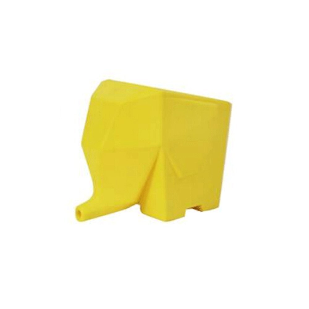 Hilai Kitchen Household Storage Elephant Cutlery Holder Drainer yellow