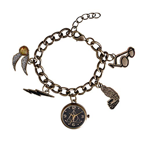 Harry Potter Charm Bracelet Watch with 4 Charms