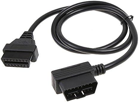 OBD2 Scanner 16Pin männlich zu weiblich Auto Diagnostic Tool Extender Kabel
