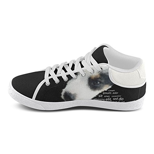 jeans InterestPrint Women Dog for jeans Canvas Sneakers InterestPrint Chukka Fashion SwHqxHC