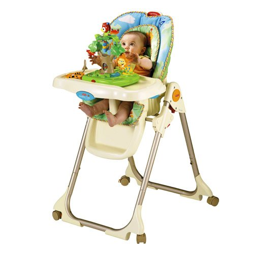 Amazon FisherPrice Rainforest Healthy Care High Chair – Fisher Price Easy Fold High Chair Recall