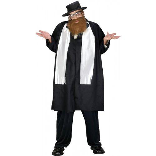 Jewish Lady Costume (Jewish Rabbi Plus Size Costume)