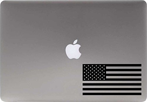American Flag Vinyl Decal Sticker for Computer Macbook Laptop Ipad Electronics Home Window Custom Walls Cars Trucks Motorcycle Automobile and More - Shopping Beirut Online