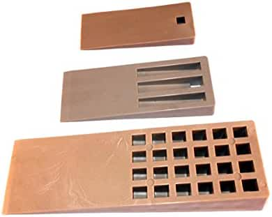 Car Builder Supply WK2 - Fiberglass Layup Mold Release Parting Wedge Kit #2 3pc Set