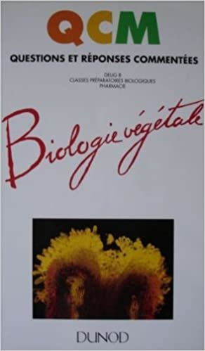 Lire Biologie végétale : DEUG B, classes préparatoires biologiques, pharmacie pdf ebook