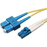 Tripp Lite Duplex Singlemode 8.3/125 Fiber Patch Cable (LC/SC), 5M (16-ft.)(N366-05M)
