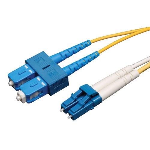 - Tripp Lite Duplex Singlemode 8.3/125 Fiber Patch Cable (LC/SC), 10M (33-ft.)(N366-10M)