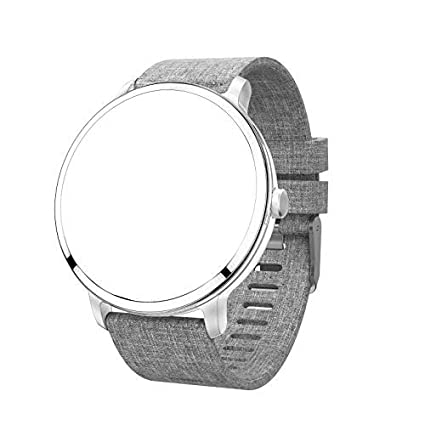 UWINMO Watch Band, Gray Llinen Band for Smart Watch