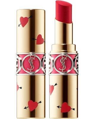 Yves-Saint-Laurent-ROUGE-VOLUPT-SHINE-OIL-IN-STICK-LIMITED-EDITION-COLLECTORS-45-Rouge-Tuxedo