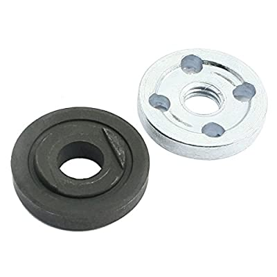 TOOGOO(R) 2Pcs Replacement Angle Grinder Part Inner Outer Flange for Makita 9523