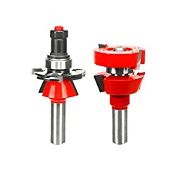 "Freud 1-1116"" (Dia.) Premier Adjustable Rail & Stile Bit With 12"" Shank (Shaker) (99-762)"