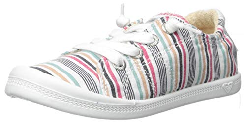 (Roxy Girls' RG Bayshore Slip On Sneaker Shoe, Multi Dream 3 M US Little Kid)