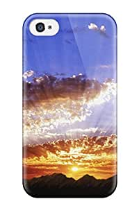 High Quality CaseyKBrown Sunbeams Skin Case Cover Specially Designed For Iphone - 4/4s