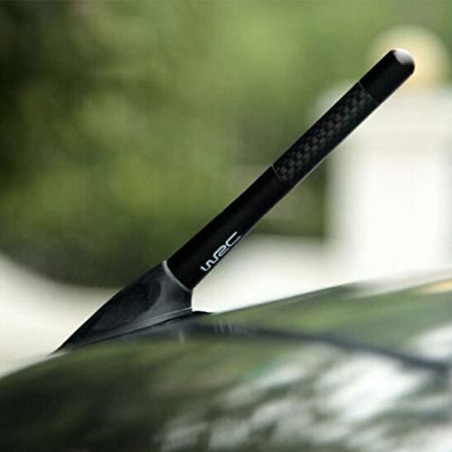 WRC Carbon Fiber Radio Car Antenna for Mercedes Benz W211 W221 W220 W163 W164 W203 C E SLK GLK CLS M GL Accessories