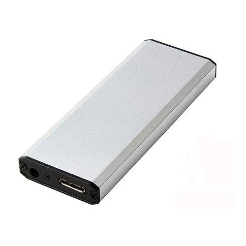 SSD Enclosure for MacBook pro 2012, A1425 A1398 MC975 MC976 USB 3.0 to Portable Box, Silver