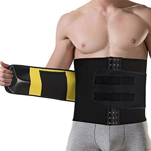 Lijincheng Yoga Camisa Fitness Gym Cuerpo Que Forma el Cuerpo Que Forma la Correa de Las Correas de Cintura de la Correa de los Hombres de Apoyo Trainer: Amazon.es: Deportes y aire