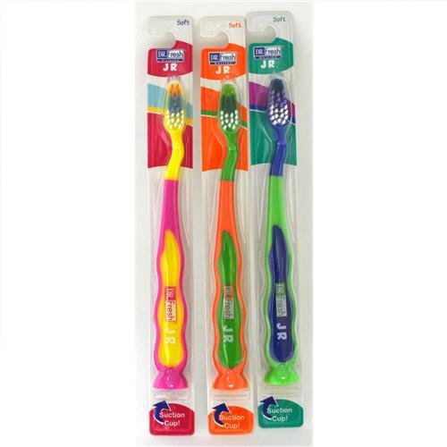 Case Pack Cup (Dr Fresh Junior Soft Toothbrush with Suction Cup - Case Pack 12 SKU-PAS822742)