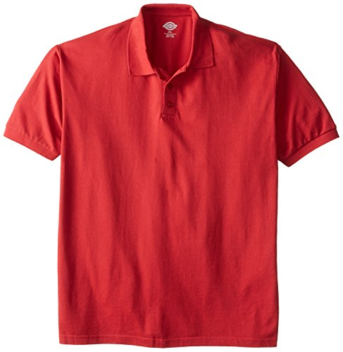 dickies-mens-big-short-sleeve-pique-polo-english-red-2x