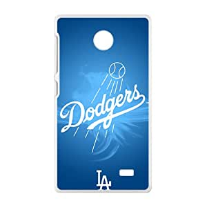 JIANADA Blue Dodgers Baseball Design Hard Case Coverr Protector For NOKIA X