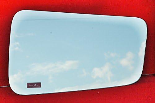 【トラック内装・室内用品】いすゞギガ[H6/2~H27/10] スーパーミラー安全窓 5mm厚ミラーパーツ【本物の鏡面】安全窓を簡単ドレスアップ