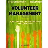 Volunteer Management Third Edition, Steve McCurley, 1895271630