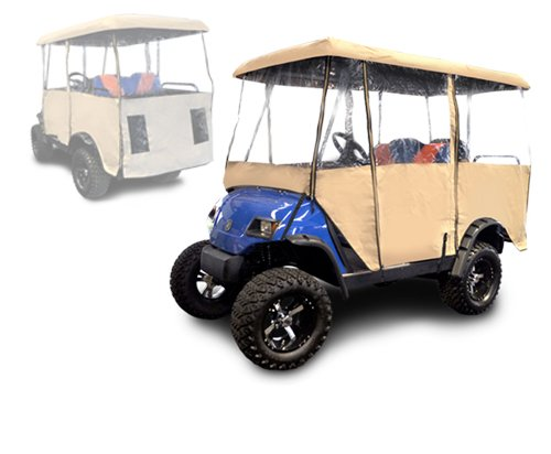 Madjax Universal Enclosure for Most Golf Cart Models Will fit Carts with 80'' Top by Madjax