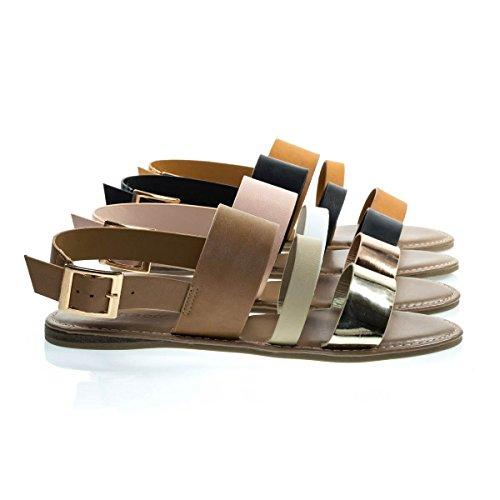 multi colored sandals - 7