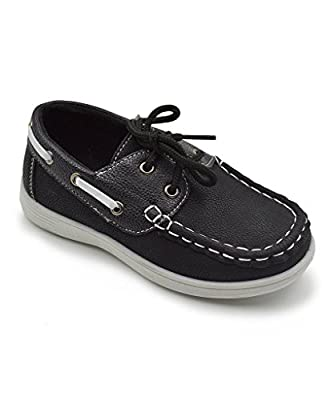 coXist Boy's Lace Up Boat Deck Shoe (Big Kid/Little Kid/Toddler)