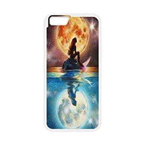 For Apple Iphone 6 Plus 5.5 inch screen Cases Cartoon Princess Mermaid Pattern Protective Back Case-Style-13
