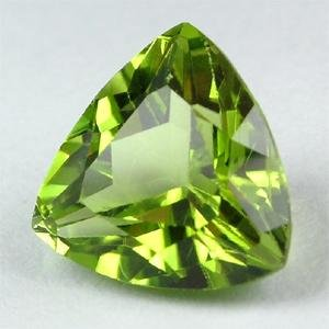 Natural Peridot AAA Quality loose Gemstone 4 mm Faceted Trillion 5 pieces lot from Dashrath International