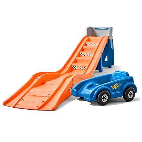 - Step2 Hot Wheels Extreme Thrill Coaster Ride On