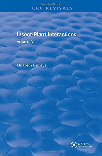 Insect-Plant Interactions (1992): Volume IV
