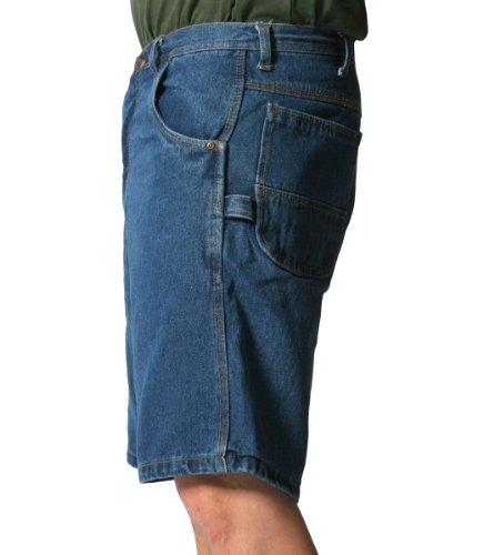 KEY Industries uomo pantaloncini da lavoro - salopette da lavoro Modello - blu Denim
