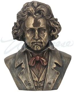 Unicorn Studios WU76459A4 Ludwig Beethoven Bust Musician Sculpture