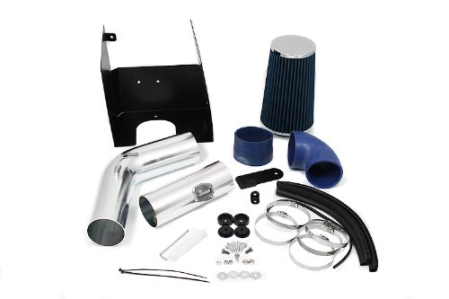 05 06 07 08 Ford F150 V8 5.4L Heat Shield Intake Blue (Included Air Filter) #Hi-FD-2B