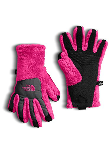 The North Face Girls' Denali Thermal Etip Glove - petticoat pink/graphite grey ()