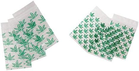 Amazon.com: Malas hierbas bolsas ziplock Baggies 2 tamaños ...