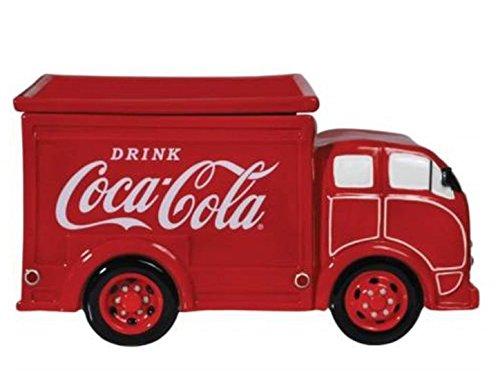 Coke Jar Cookie (Westland Giftware Ceramic Cookie Jar, 6.5-Inch, Coca-Cola Delivery Truck)