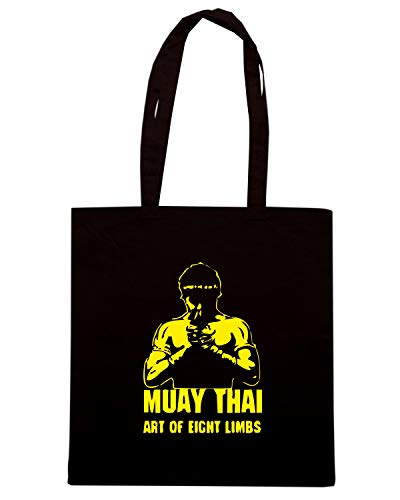 Nera TBOXE0092 THAI Shopper Speed MUAY Borsa Shirt 4wqnZCt