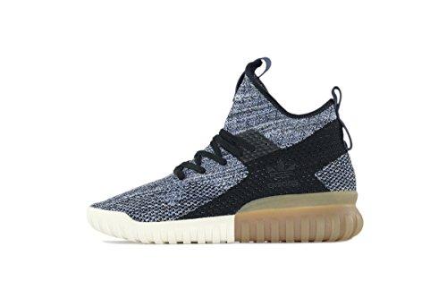 Adidas Man Originalen Rörformiga X Primknit Skor, Kärna Svart / Taktil Blå
