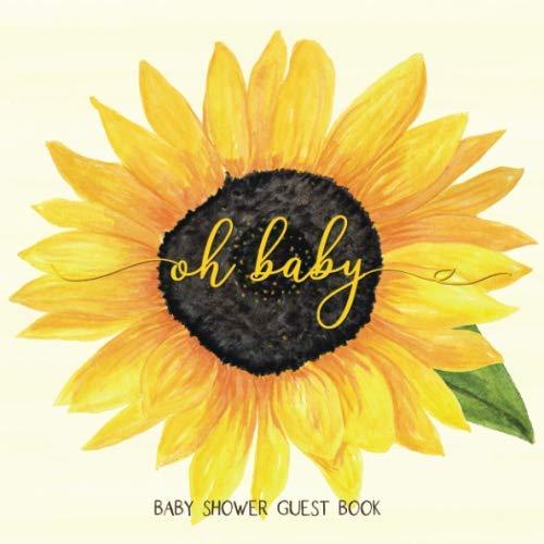 Sunflower Baby Shower - Oh Baby: Sunflower Baby Shower Guest