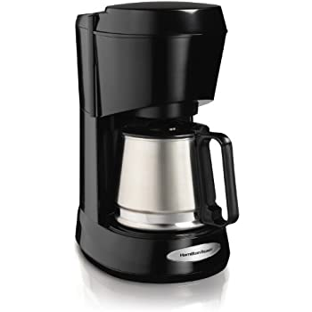 Hamilton Beach 5-Cup Coffee Maker with Stainless Carafe (48137)