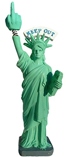 Donald Trump Doll Inspired By Donald Trump Success Statue of Liberty Bobble Finger Type Bobblehead Doll