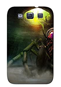 Ellent Design Giant Insect Attacking Phone Case For Galaxy S3 Premium Tpu Case For Thanksgiving Day's Gift