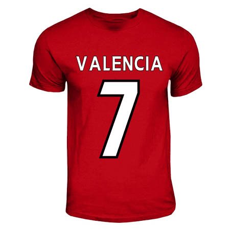 Antonio Valencia Manchester United Hero T-Shirt (red) for sale  Delivered anywhere in USA