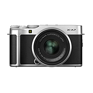 "Fujifilm X-A7 24.2 MP Mirrorless Camera with XC 15-45 mm Lens (APS-C Sensor, Large 3.5"" Vari-Angle Touchscreen, Face/Eye Auto Focus, 4K Video Vlogging, Blur Control, Film Simulations) - Silver 9"