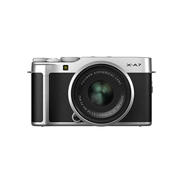 "RetinaPix Fujifilm X-A7 24.2 MP Mirrorless Camera with XC 15-45 mm Lens (APS-C Sensor, Large 3.5"" Vari-Angle Touchscreen) + SanDisk 128GB Extreme Pro SDXC UHS-I Card - C10, U3, V30, 4K UHD, SD Card"