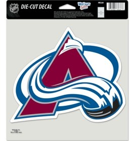 NHL Colorado Avalanche Die-Cut Color Decal, 8