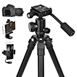 Best Camera Tripods - Camera Tripods,Phone Holder Adapter,DSLR lightweight Video Stand Compact Review